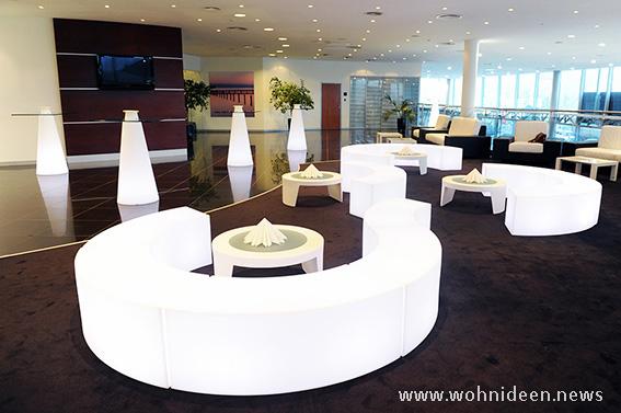 Beleuchtete Möbel sind ein echter Trend denn sie sind etwas Besonderes - SLIDE Design