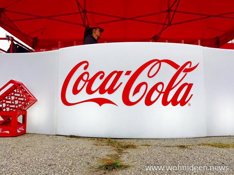 Coca Cola Theken Coca Cola Ausschank Coca Cola Logo - Loungemöbel Beleuchtet