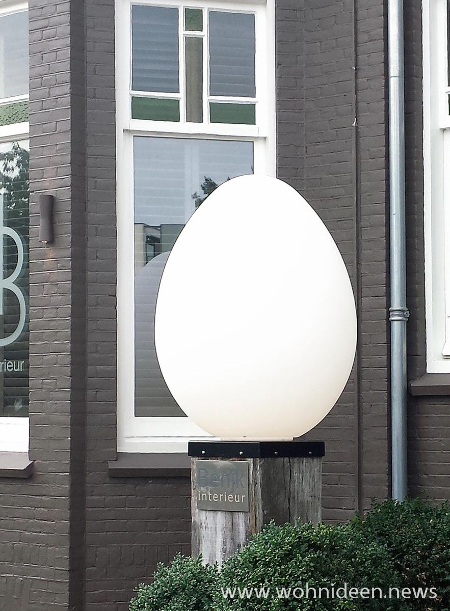 Das beleuchtete Dino Ei als Eyecatcher für Ihren Außenbereich Beleuchtung mit Stil - Loungemöbel Beleuchtet