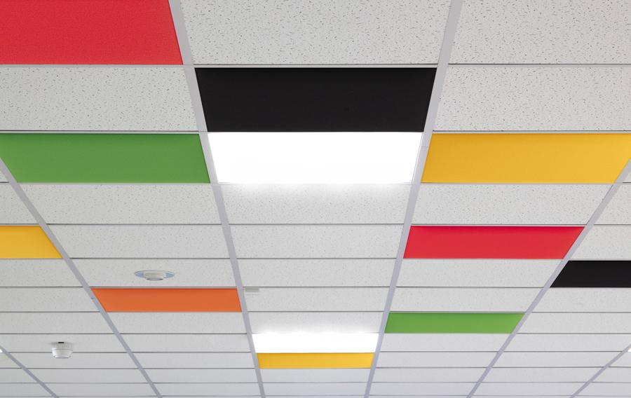 Deckeneinbau Akustik Schallschutz - Büro Schallschutz Decke