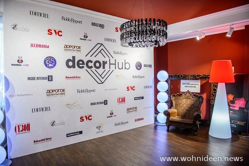 Decor Hub Awards Beleuchtung Szene - Loungemöbel Beleuchtet