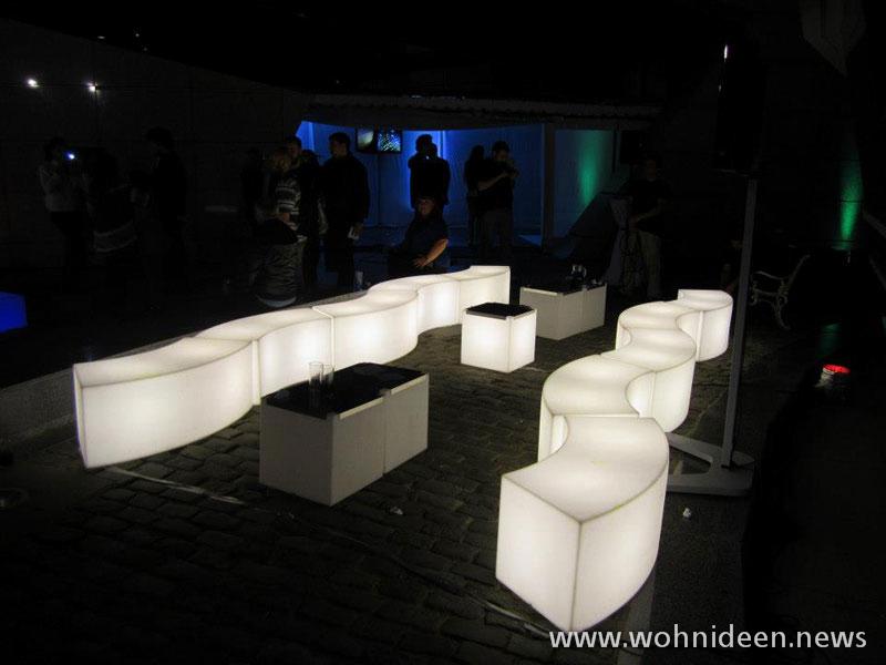 Designmöbel Shop aus Deutschland mit gratis Versand - Loungemöbel Beleuchtet