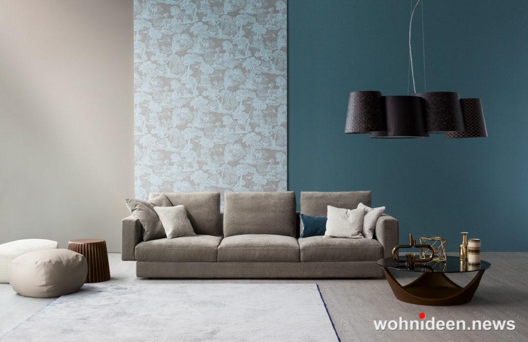Die schönsten Wohnideen für dein Wohnzimmer Farbengestaltung Wohnzimmer 1030x666 - Wohnzimmer Ideen