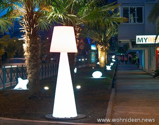 LED Outdoor Stehleuchte bei Graf Licht - SLIDE Design