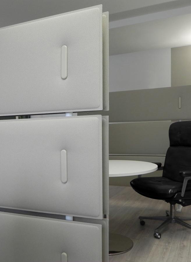 Mobile Schallschutzwand Büroeinrichtung - Schallschutz Sichtschutz