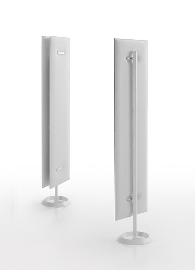 Schallschluckende Büro Trennwand weisse Trennwände Raumteiler Ordination - Schallschutz Sichtschutz