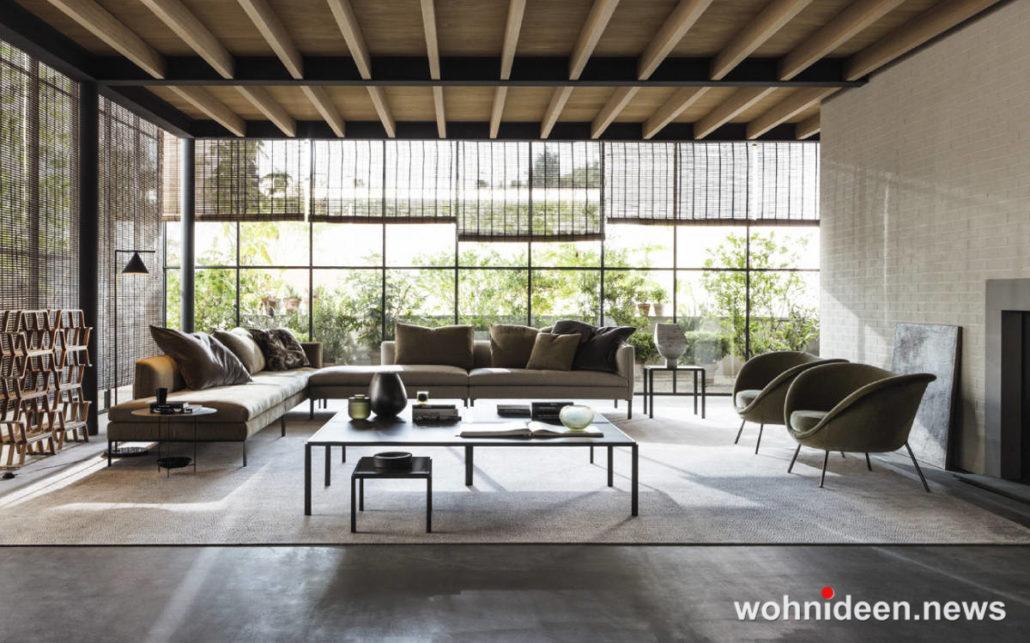 Wohnzimmer einrichten Beispiele die sehenswert sind Schöner Wohnen 1030x643 - Wohnzimmer Ideen