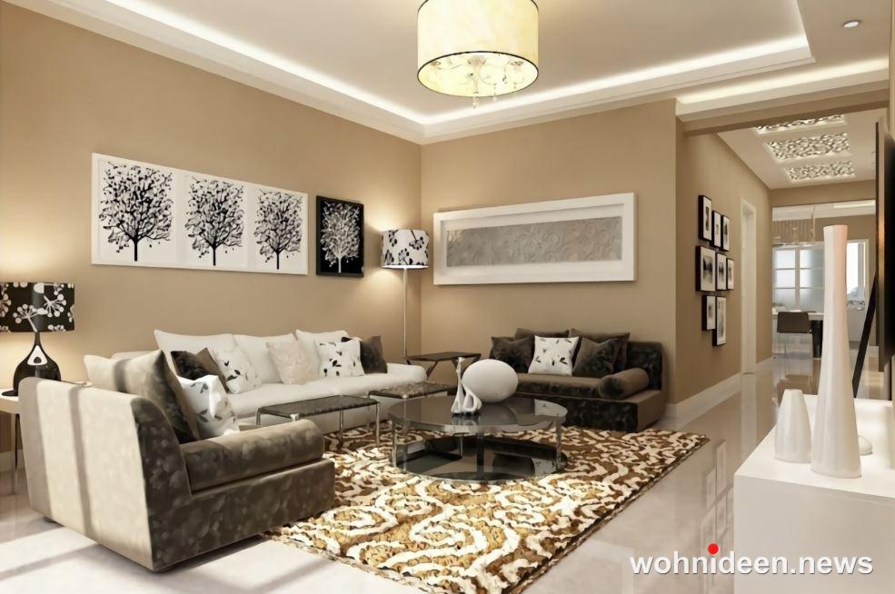 modernes wohnzimmer einrichtungsideen - Wohnzimmer Ideen