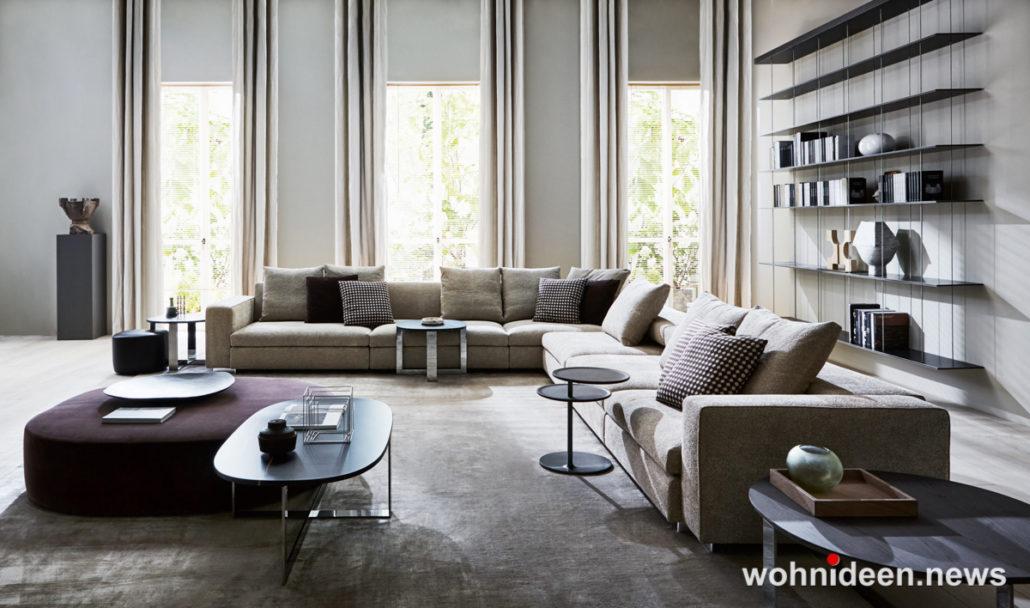 wohnzimmer ideen wandgestaltung 1030x608 - Wohnzimmer Ideen