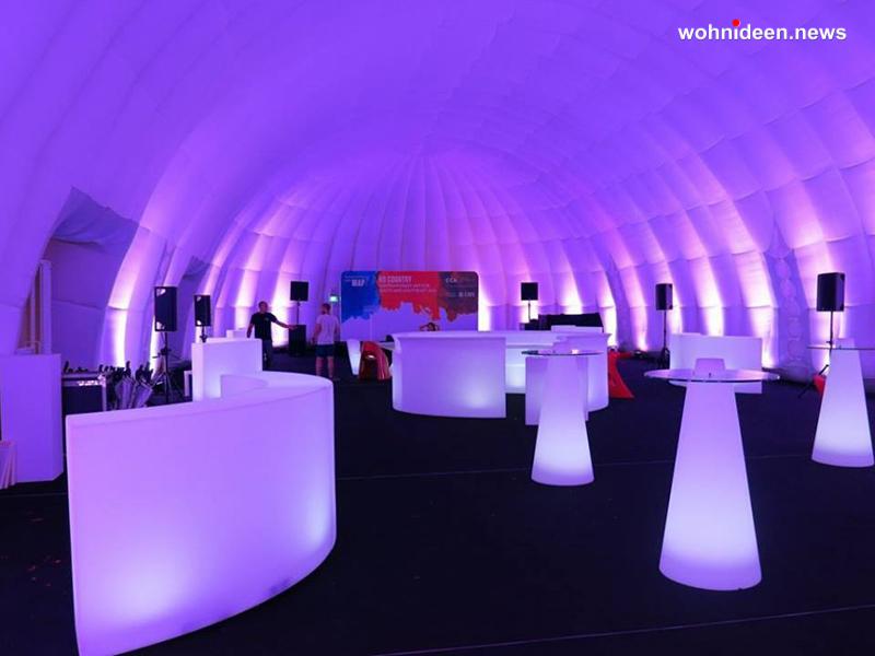 01 slide gallery events airstar asia dinner suisse glider snack bar peak leuchtmöbel - Leuchtwürfel Sitzwürfel Hocker beleuchtet