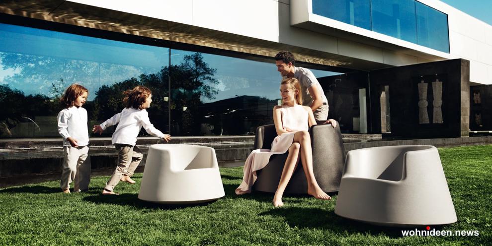 Ausgefallene Designer Gartenmöbel für die Terrasse - Designer Gartenmöbel Wetterfest | Terrassenmöbel Wetterfest
