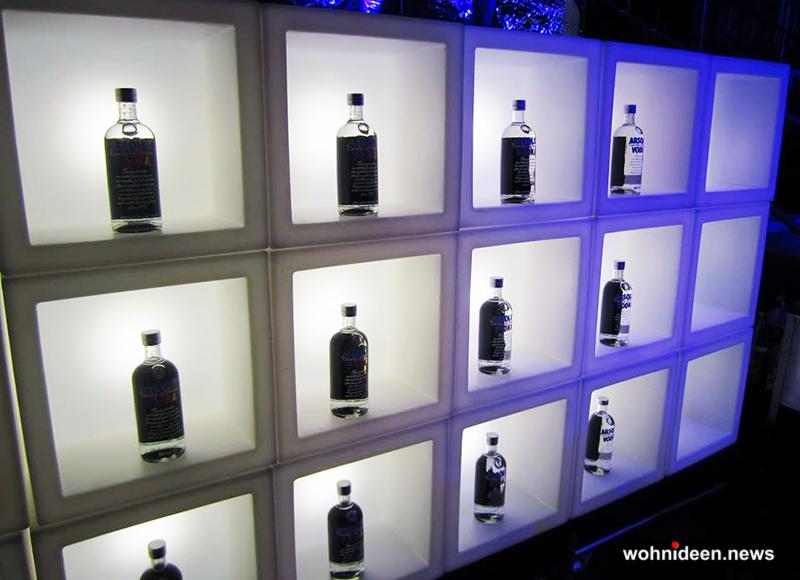 Hochwertige Würfelleuchte Cube Lampenwelt - CUBO Leuchtwürfel | Sitzwürfel beleuchtet