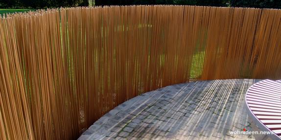 Gartenzäune & Sichtschutz aus Bambus