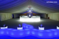 LIQUID BARS Sahara Force India Event 7 fb leuchtmöbel - Leuchtwürfel Sitzwürfel Hocker beleuchtet
