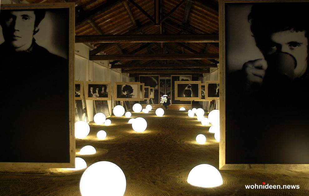 Leuchtkugel Garten LED Slide - Kugelleuchte & Kugellampe