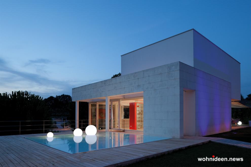 Leuchtkugeln Slide bei Wohnideen - Kugelleuchte & Kugellampe