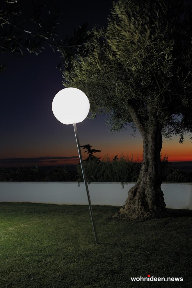 Leuchtkugeln Slide slide fiaccola globo 1 - Kugelleuchte & Kugellampe