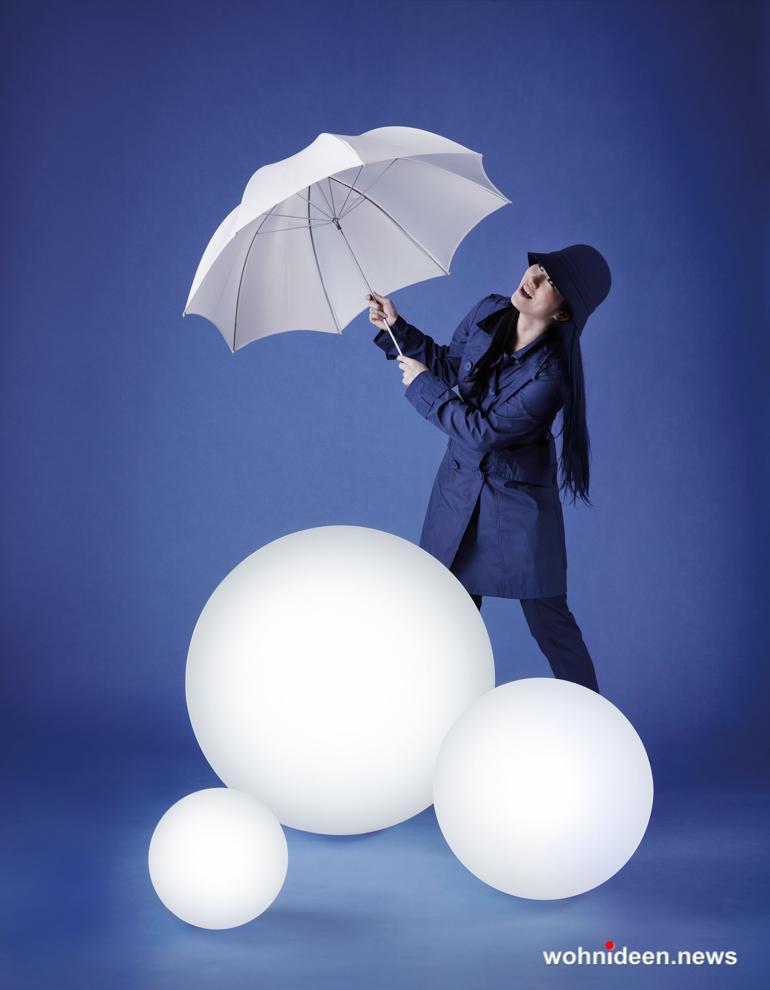 Leuchtkugeln Slide slide globo - Kugelleuchte & Kugellampe