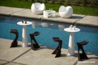 Loungemöbel Möbelvermietung table hoplà 6 - Wetterfeste Gartenmöbel & Wetterfeste Terrassenmöbel