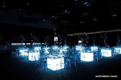 Loungemöbel Möbelvermietung table square 4 - Beleuchtete Loungemöbel & Beleuchtete Outdoor Möbel