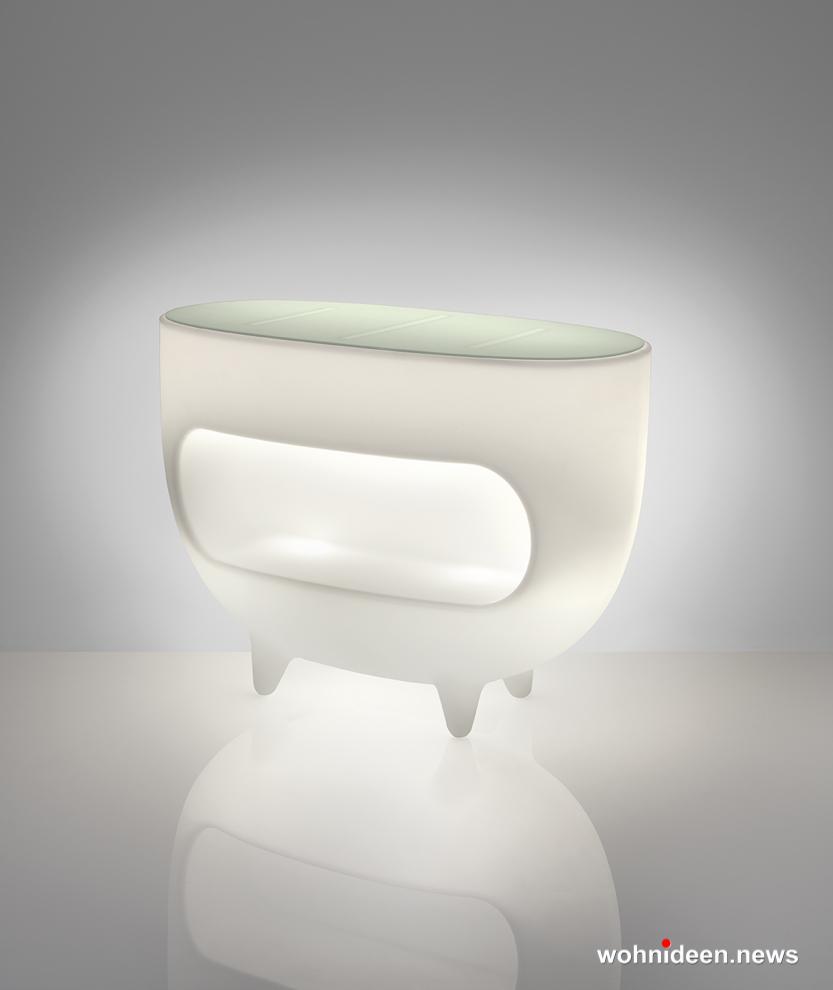 Loungemöbel Möbelvermietung Splay Light White Sfondo - Gartenmöbel, Balkonmöbel & Terrassenmöbel