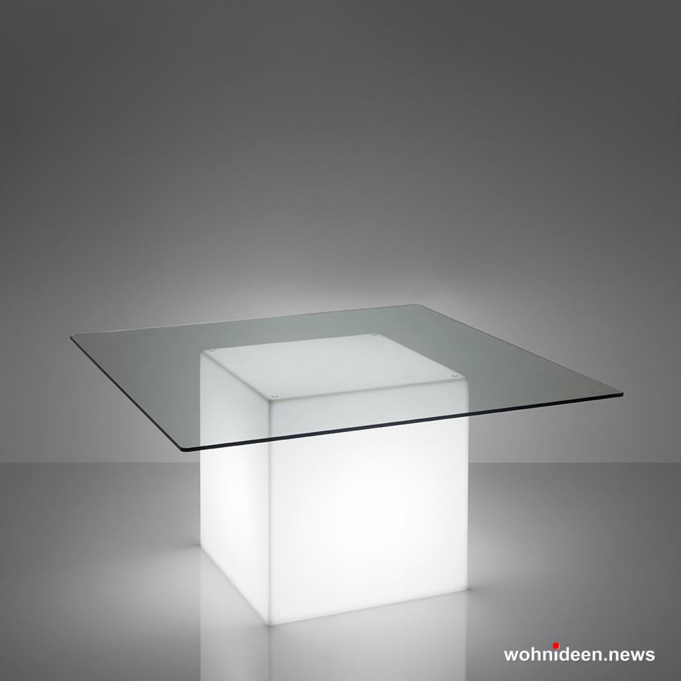 Loungemöbel Möbelvermietung Square Light White Sfondo - Gartenmöbel, Balkonmöbel & Terrassenmöbel