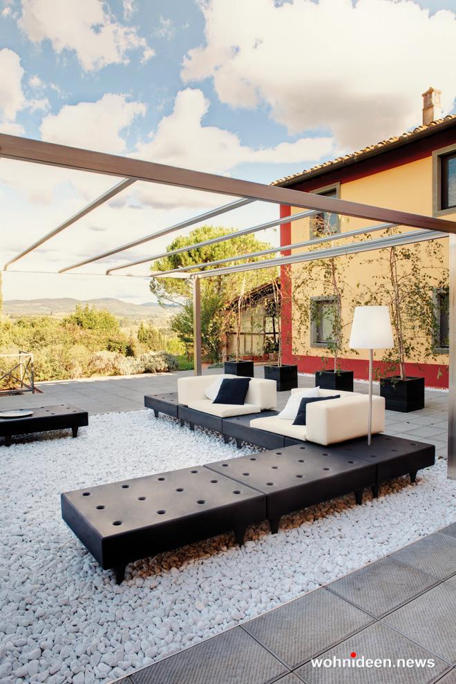 Loungemöbel Möbelvermietung sofa happylife 2 - Gartenmöbel, Balkonmöbel & Terrassenmöbel
