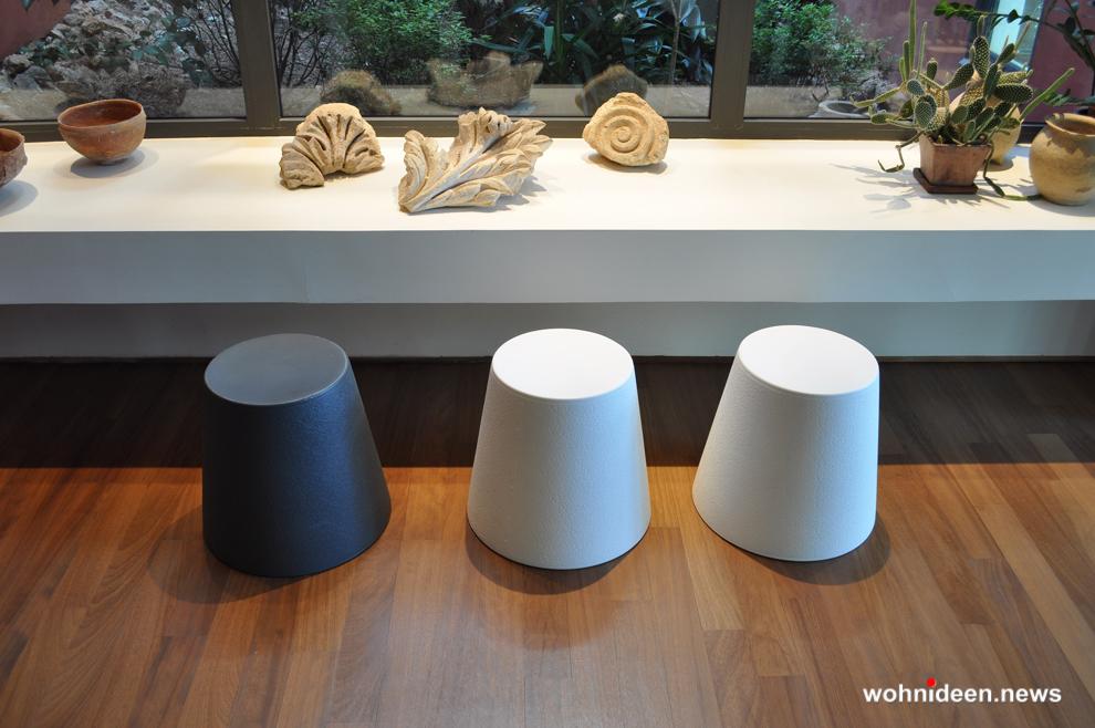 Loungemöbel Möbelvermietung stool ali baba 2 - Wetterfeste Gartenmöbel & Wetterfeste Terrassenmöbel