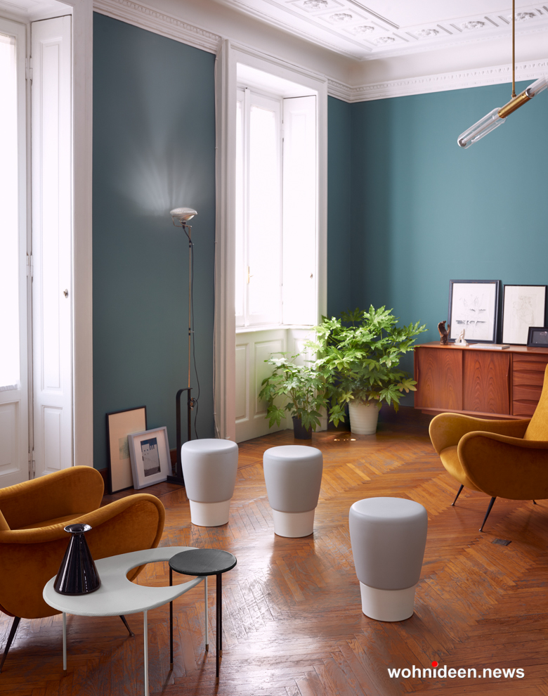 Loungemöbel Möbelvermietung stool lau 1 - Wetterfeste Gartenmöbel & Wetterfeste Terrassenmöbel