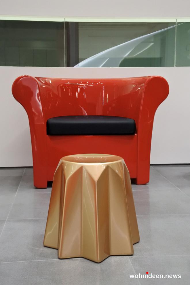 Loungemöbel Möbelvermietung stool pandoro 2 - Wetterfeste Gartenmöbel & Wetterfeste Terrassenmöbel