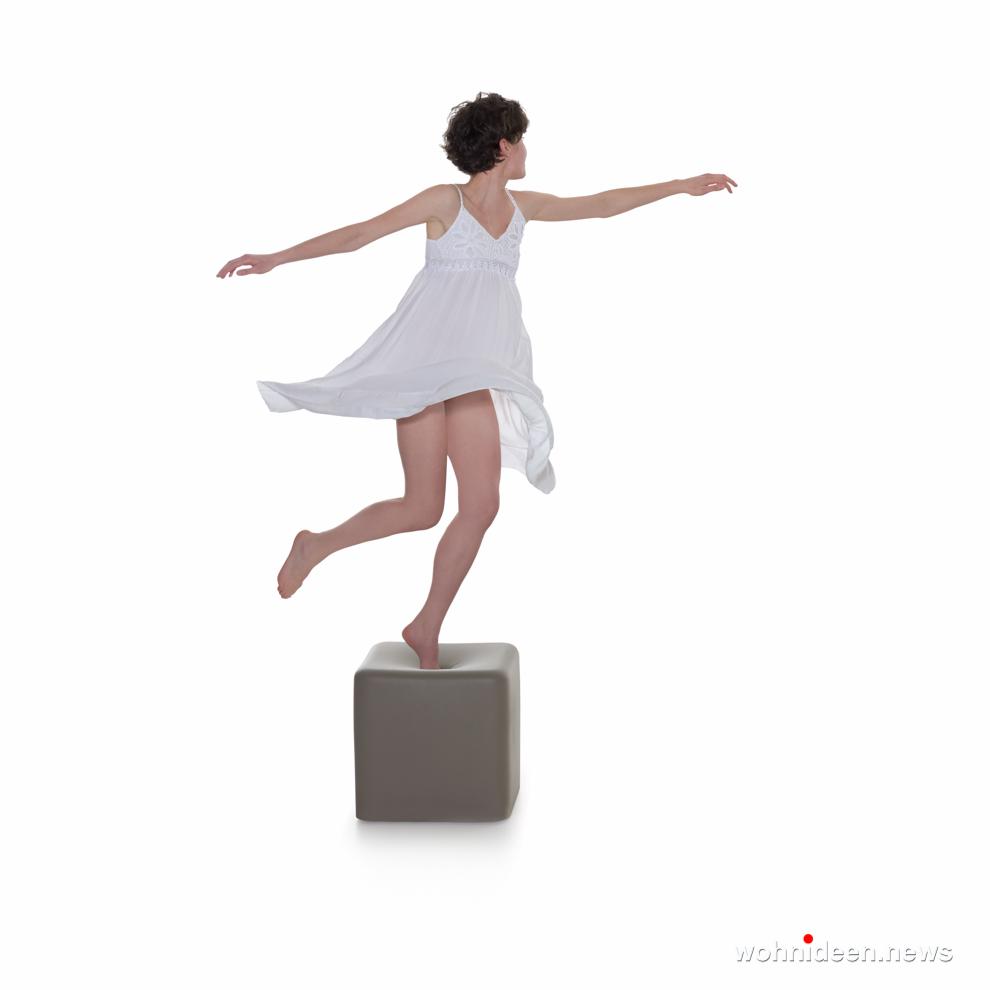 Loungemöbel Möbelvermietung stool soft cubo 4 - Wetterfeste Gartenmöbel & Wetterfeste Terrassenmöbel