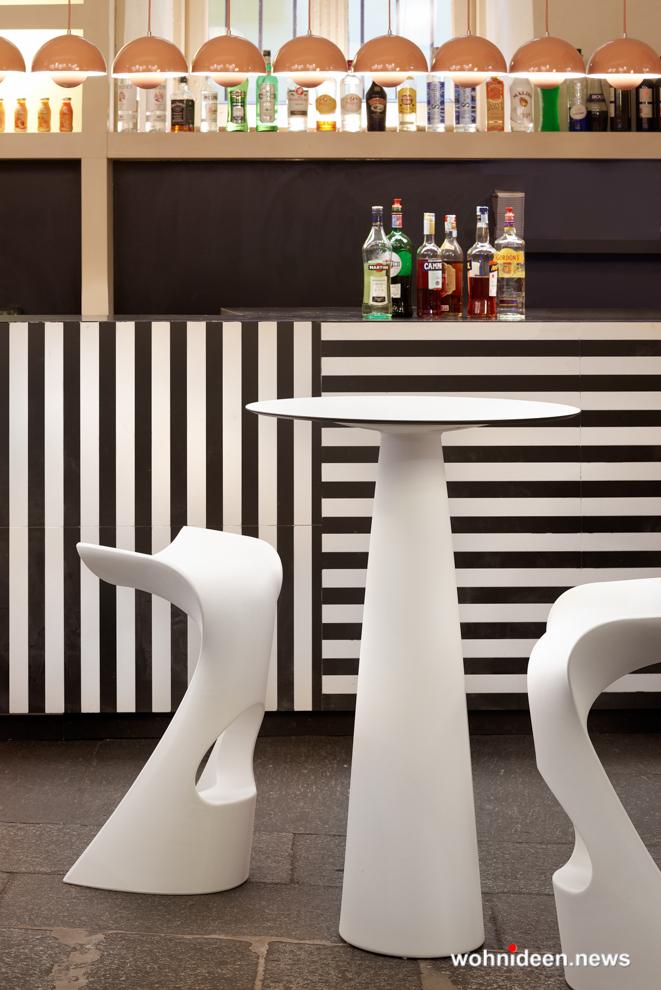 Loungemöbel Möbelvermietung table hoplà 2 - Wetterfeste Gartenmöbel & Wetterfeste Terrassenmöbel
