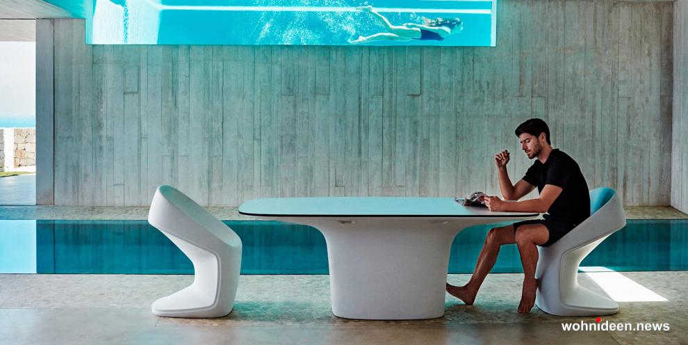Moderne Stilvolle Gartenmöbel - Designer Gartenmöbel Wetterfest | Terrassenmöbel Wetterfest