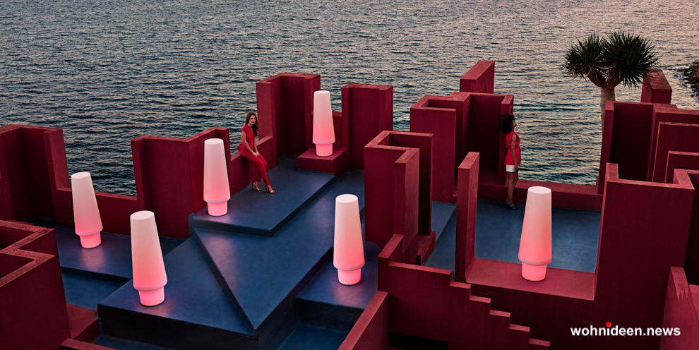 Rote Gartenmöbel Trends und Einkaufstipps - Designer Gartenmöbel Wetterfest | Terrassenmöbel Wetterfest