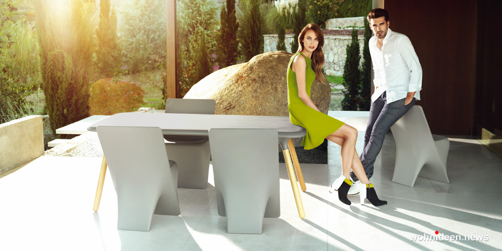Tische Gartenmöbel in weiss besondere Designer Möbel - Designer Gartenmöbel Wetterfest | Terrassenmöbel Wetterfest