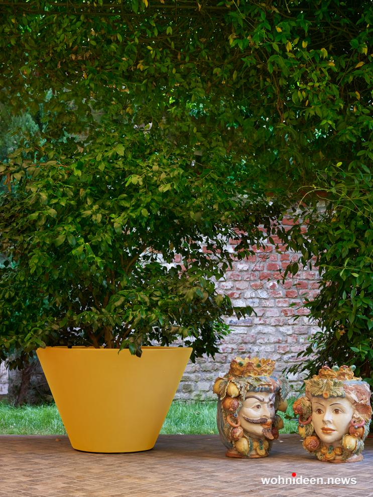 Super Ausgefallene Blumentöpfe und Vasen für draußen - Wohnideen XU86