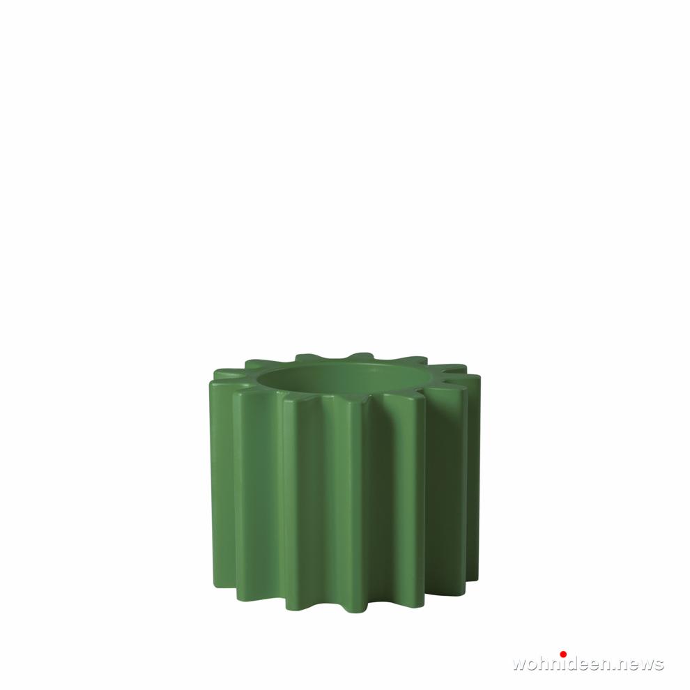 ausgefallene blumentöpfe grün - Ausgefallene Blumentöpfe und Vasen für draußen