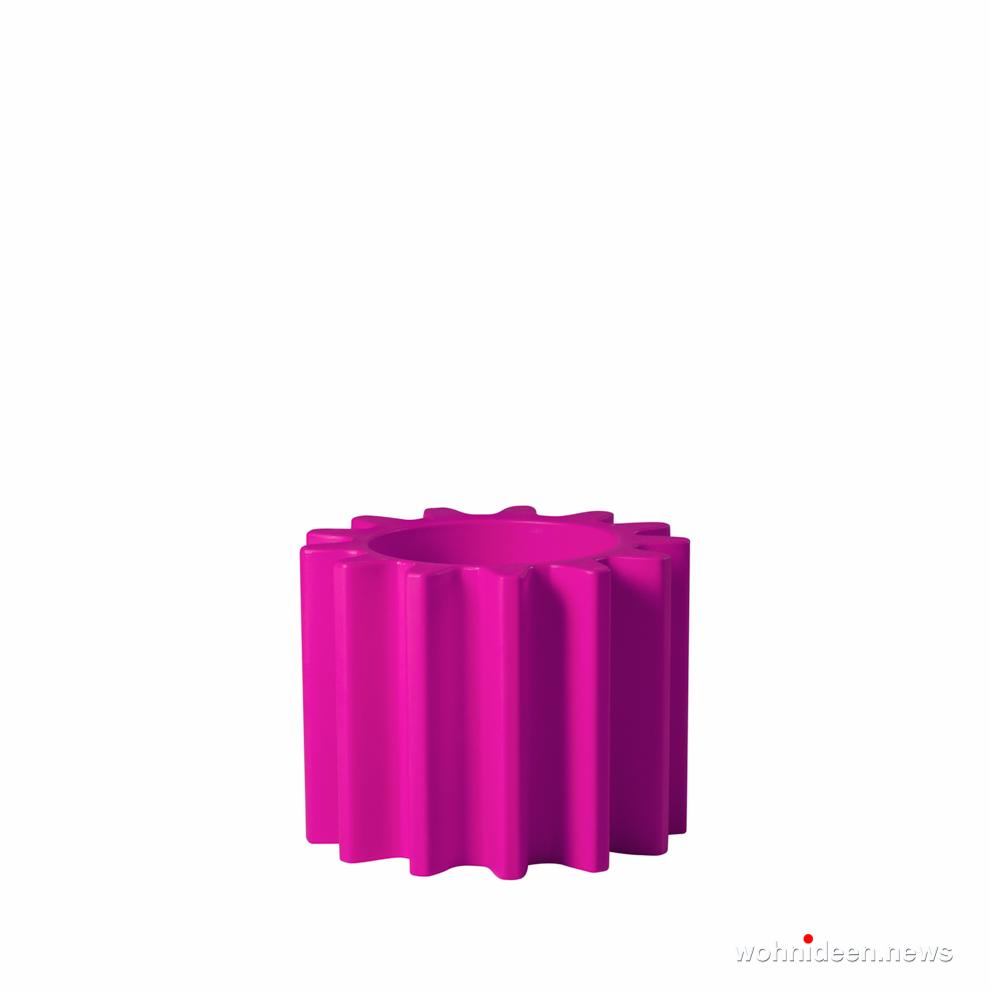 ausgefallene blumentöpfe pink - Ausgefallene Blumentöpfe und Vasen für draußen