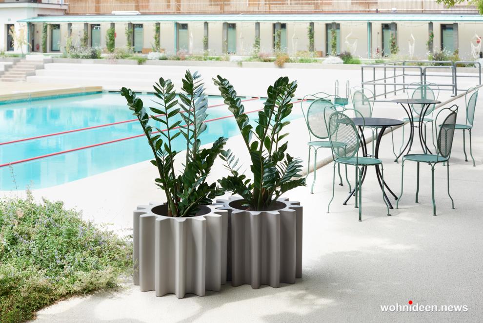 ausgefallene blumentöpfe terrasse - Ausgefallene Blumentöpfe und Vasen für draußen