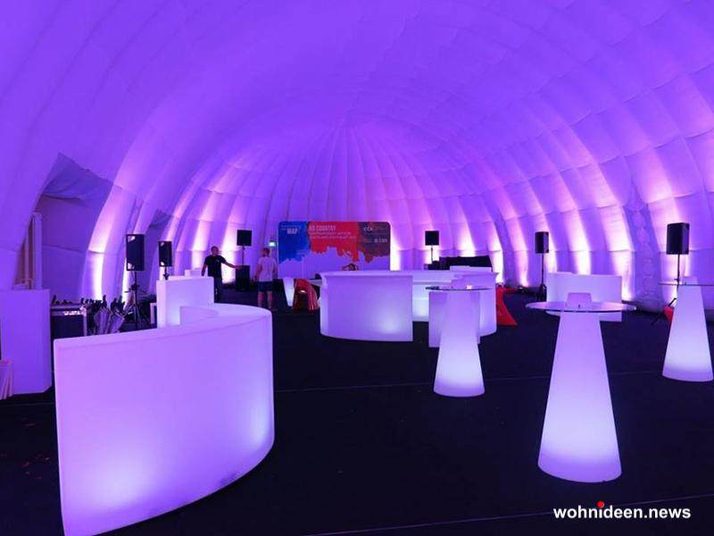 bar theke und Sitzwürfel und weitere Polsterhocker online kaufen - CUBO Leuchtwürfel | Sitzwürfel beleuchtet