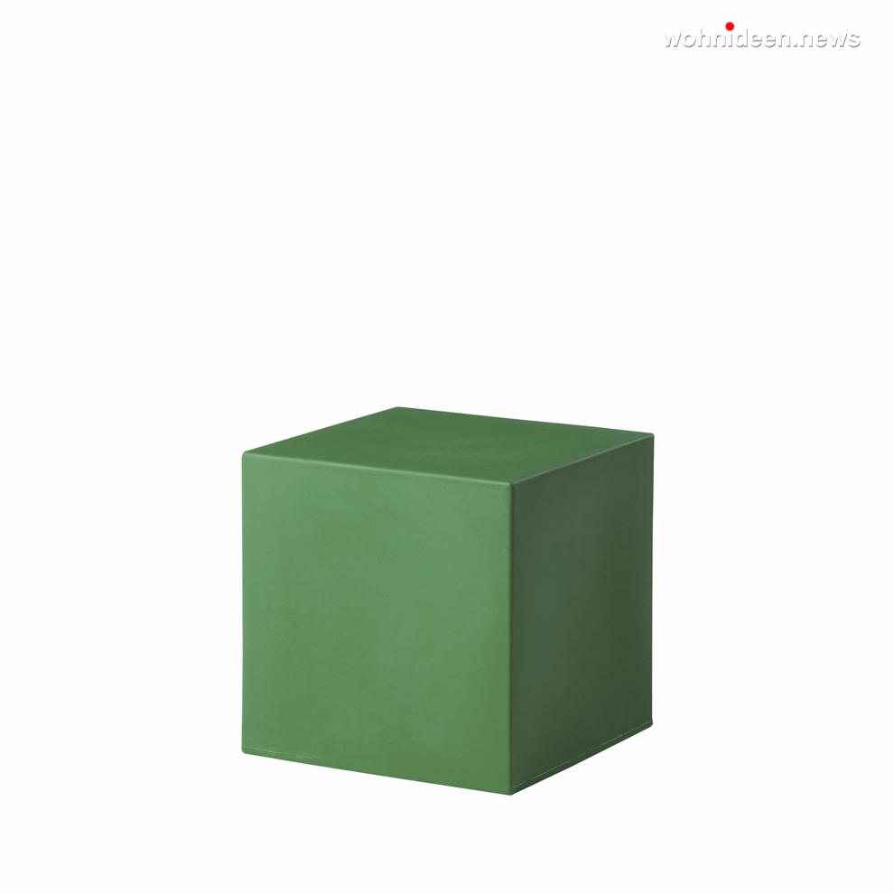 cubo 40 malva green prosp leuchtmöbel - Leuchtwürfel Sitzwürfel Hocker beleuchtet