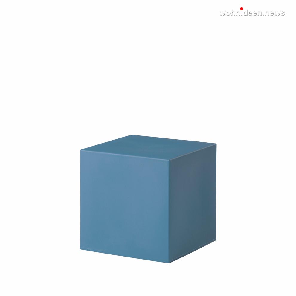 cubo 40 powder blue prosp leuchtmöbel - Leuchtwürfel Sitzwürfel Hocker beleuchtet