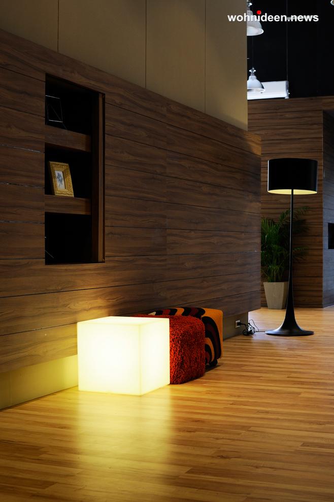 floor lamp cubo 3 leuchtmöbel - Leuchtwürfel Sitzwürfel Hocker beleuchtet