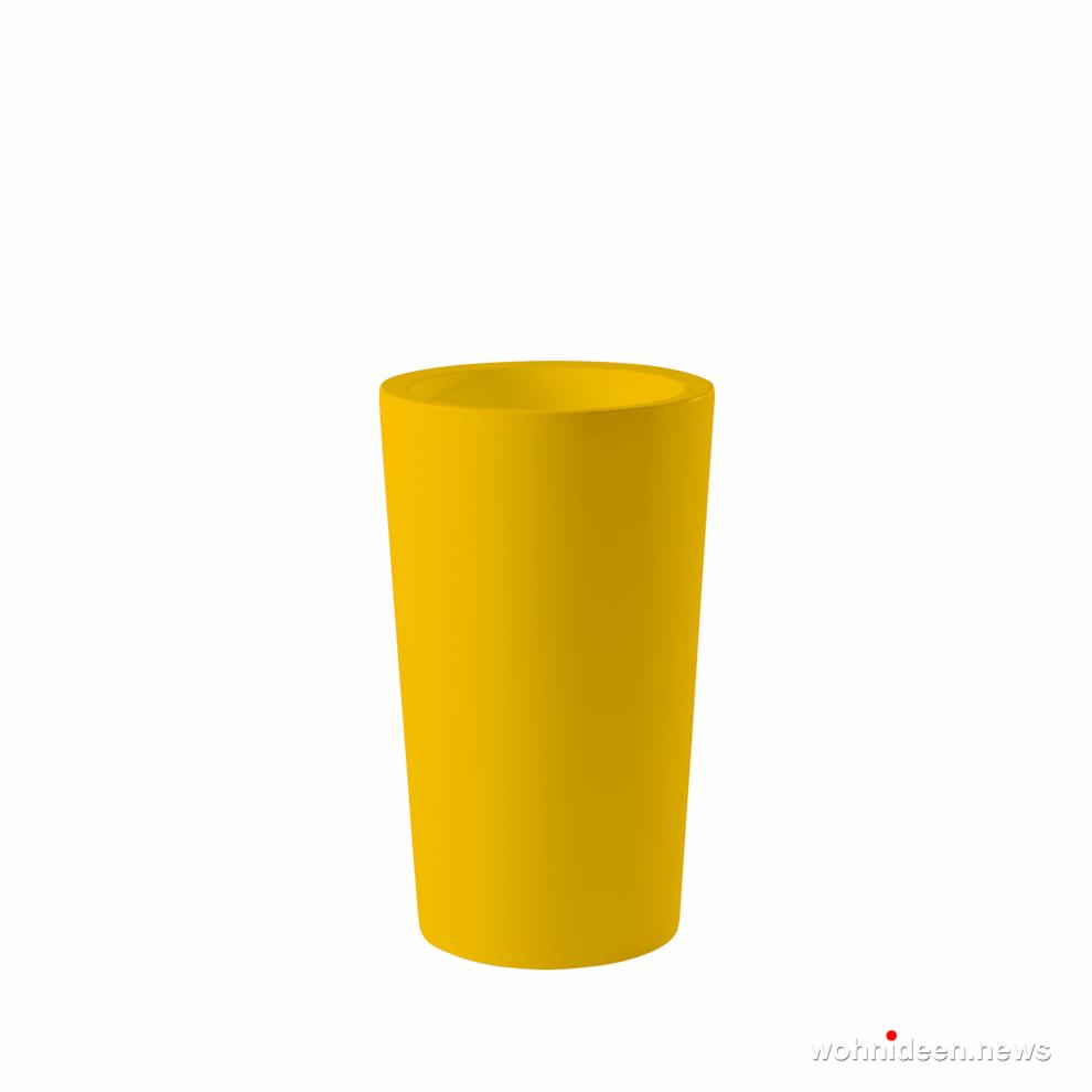 gelbe große vasen für garten - Ausgefallene Blumentöpfe und Vasen für draußen