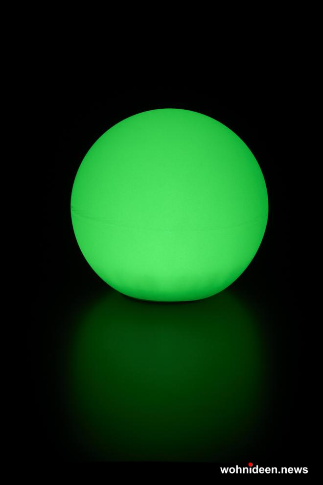 grüne Leuchtkugeln Slide Lampen - Kugelleuchten & Kugellampen