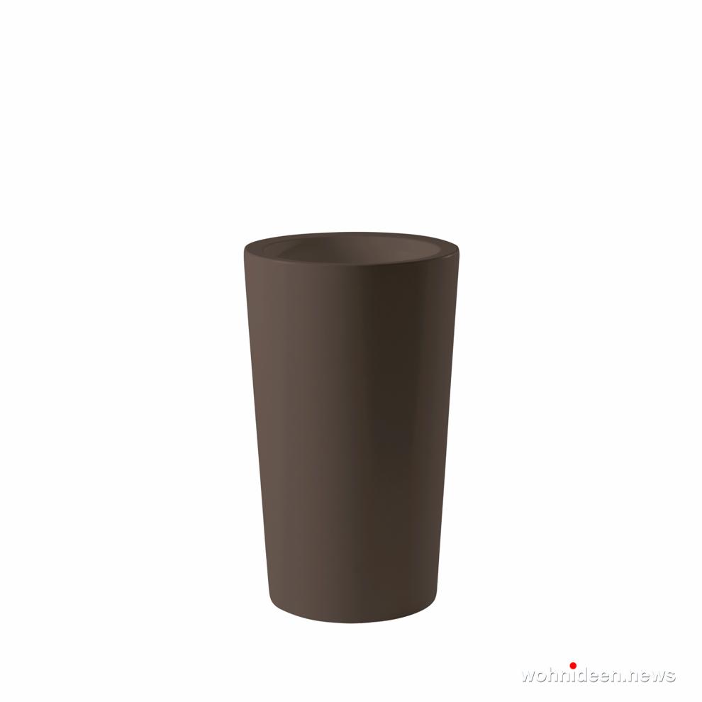graue große vase für garten - Ausgefallene Blumentöpfe und Vasen für draußen