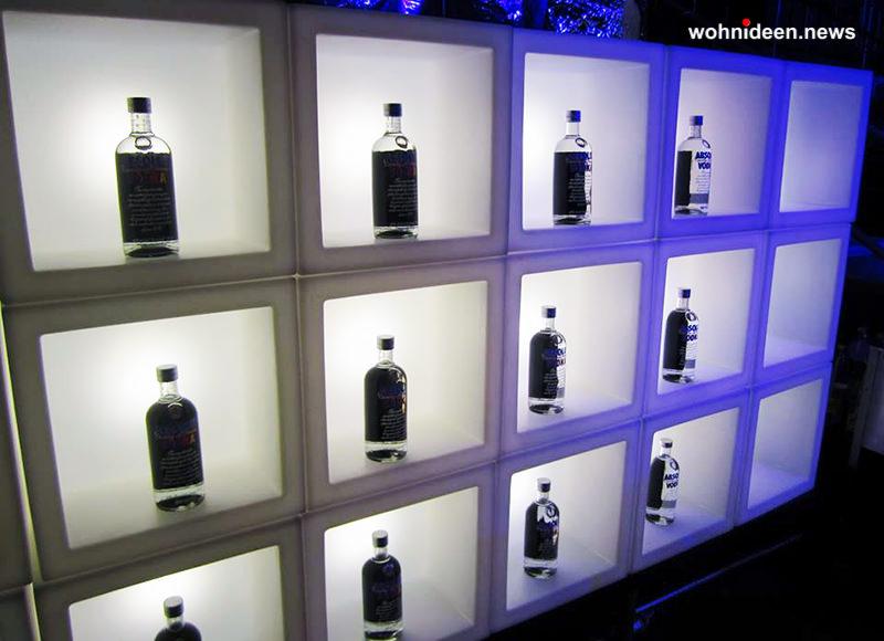 hoteleinrichtung led würfel barbeleuchtung - LED Möbel + Beleuchtete Möbel + Leuchtmöbel Shop