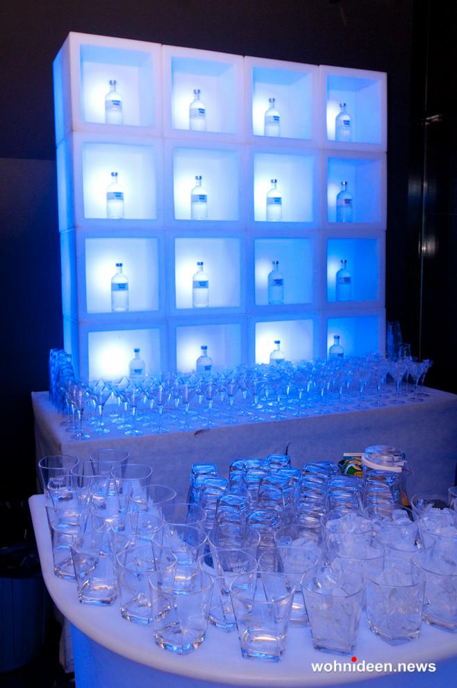 led bar theke outdoor beleuchtet Slide modular display open cube - CUBO Leuchtwürfel | Sitzwürfel beleuchtet