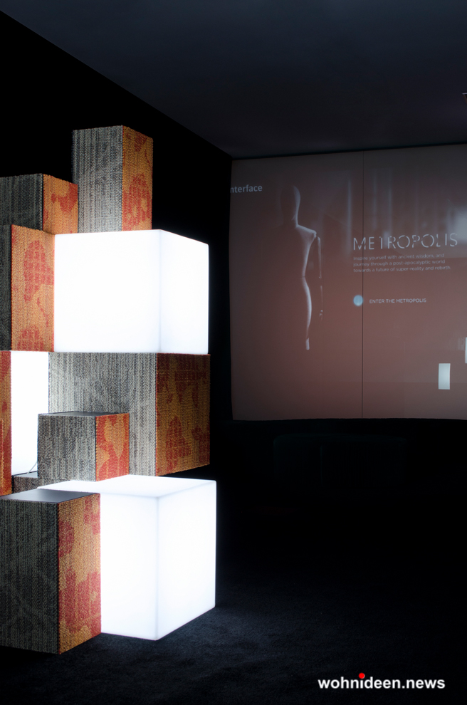 led sitzwürfel slide - CUBO Leuchtwürfel | Sitzwürfel beleuchtet