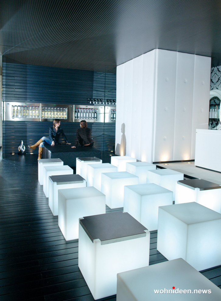 led sitzwürfel - CUBO Leuchtwürfel | Sitzwürfel beleuchtet